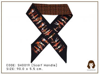 scarf handle - black people คนสีดำส้ม