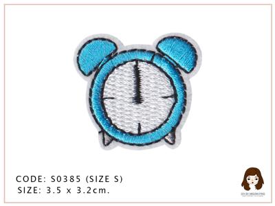นาฬิกาปลุกสีฟ้า
