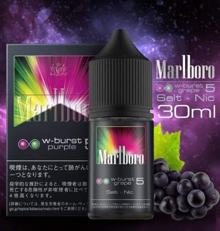 Marlboro W-Burst Grape Salt Nic 30 ml Nic35