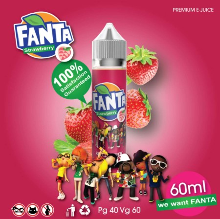 Fanta Strawberry 60ml
