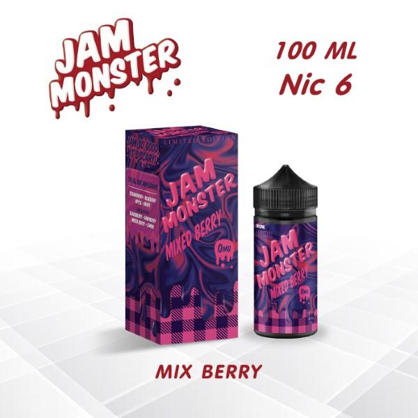 Jam Monster LE Mixed Berry Freebase 100ml Nic 6 - บุหรี่ไฟฟ้า Shopburi ขายบุหรี่ไฟฟ้า พอต น้ำยาบุหรี่ไฟฟ้า saltnic อะตอม POD อุปกรณ์เกี่ยวกับบุหรี่ไฟฟ้า รีวิวเกี่ยวกับบุหรี่ไฟฟ้ามากมาย จัดส่งไวโคตร | fcvape.com