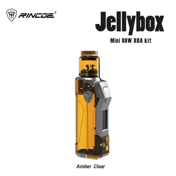 Rincoe Jellybox Mini 80W RDA Kit[แท้][(Amber Clear)